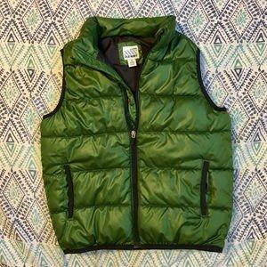 Old Navy Green Puffy Vest size M medium 8